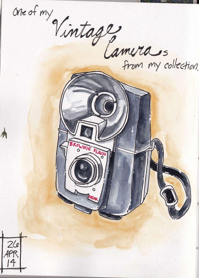 Old camera sketch